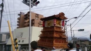 西条祭り 上神拝 町内運行 弐 thumbnail