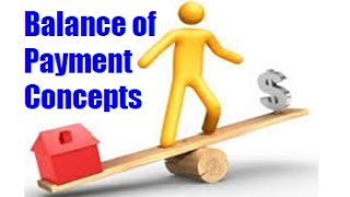 Balance of Payment & Balance of Trade - Simple Explantion with example