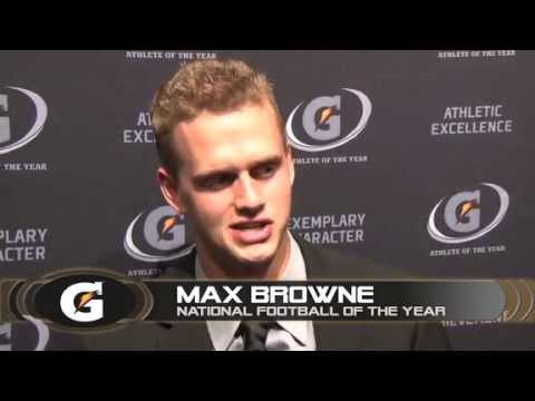 Max Browne - Gatorade AOY Awards Interview