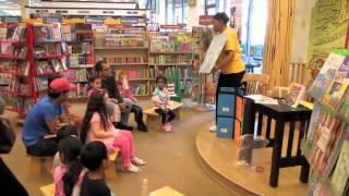 TNG sings Big Box, Little Box Jingle at Barnes and Noble