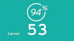 94 Prozent (94%) - Level 53 - Sportarten ohne einen Ball - Lösung
