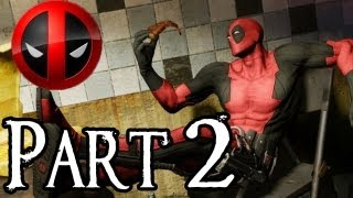 Deadpool Walkthrough Part 2 - Chasing Chase - Part 1