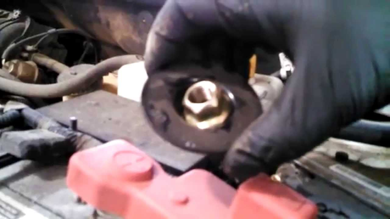 small resolution of front strut replacement 2004 2011 chevrolet aveo ls daewoo struts install remove replace youtube