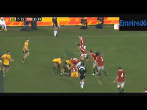 Israel Folau Scores 2 INCREDIBLE tries on Debut