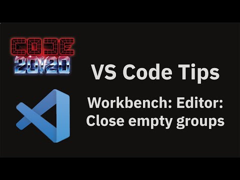 Workbench: Editor: Close empty groups