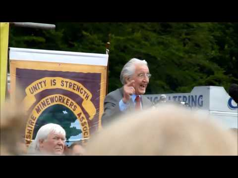 DENNIS SKINNER at 2016 DURHAM MINERS GALA