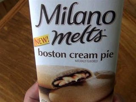 Pepperidge Farm's Boston Cream Pie Milano Melts