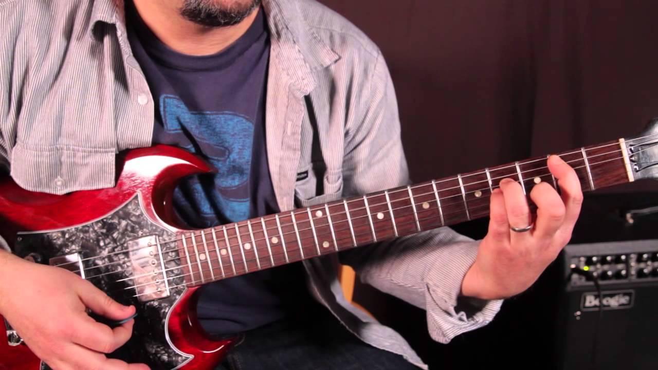 Nirvana Guitar Lesson How To Play Lounge Act On Guitar Kurt