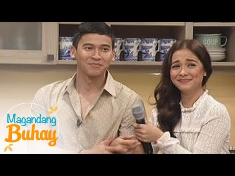 Magandang Buhay: Real score between Maja and Enchong