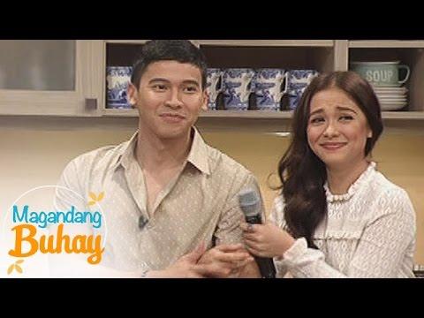 Magandang Buhay: Real score between Maja and Enchong
