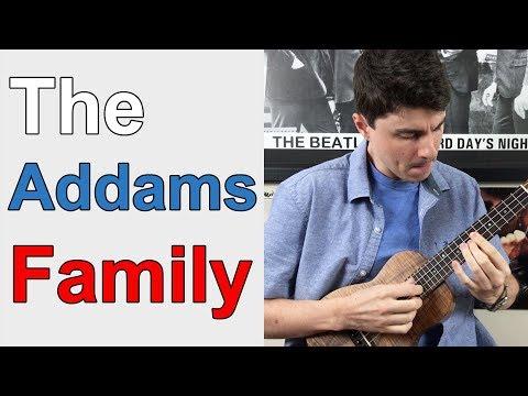The Addams Family Theme - Ukulele Lesson