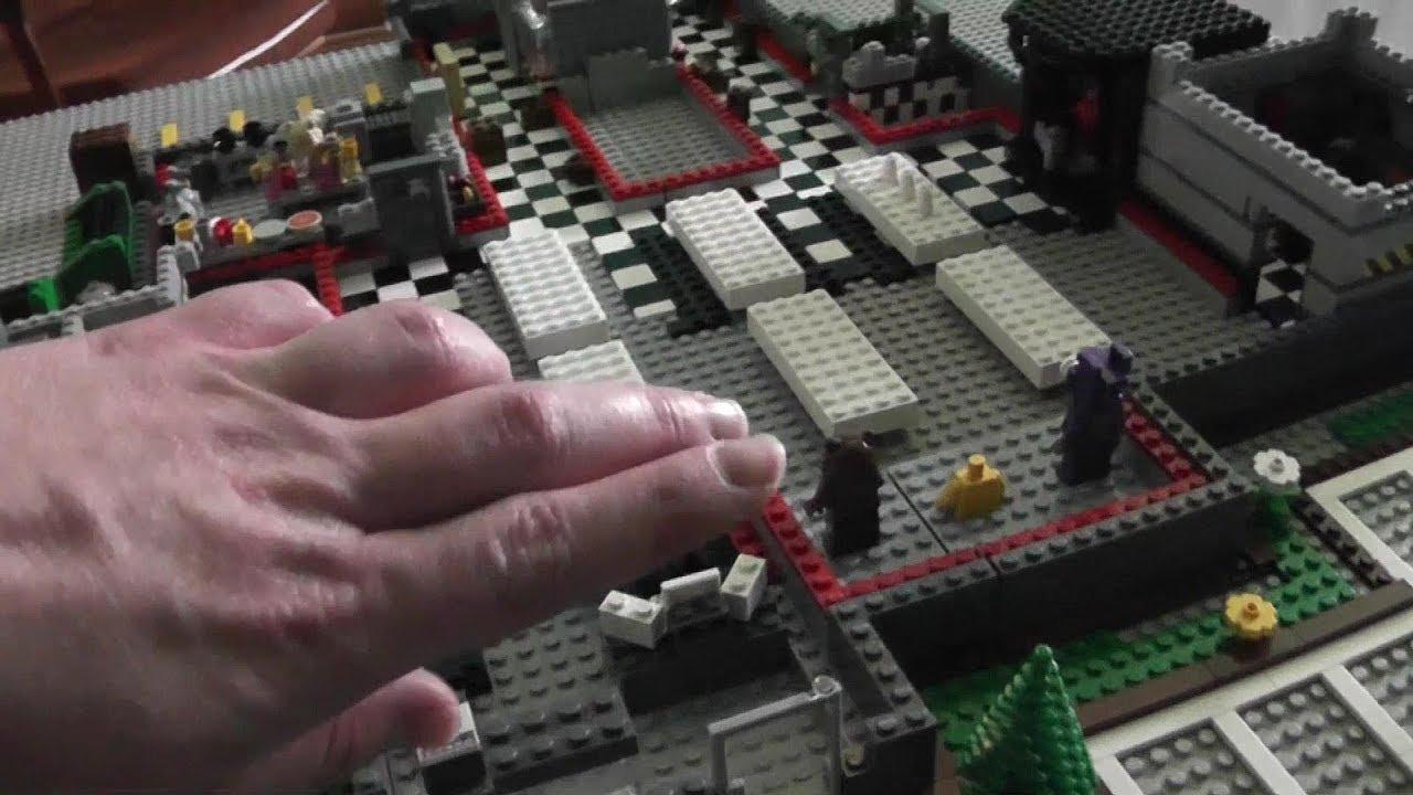 The Making Of Lego Freddy Fazbears Pizza YouTube