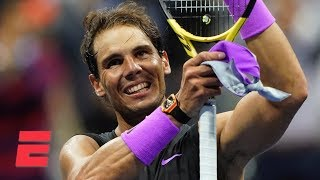 Rafael Nadal advances to men's final by beating Matteo Berrettini   2019 US Open Highlights