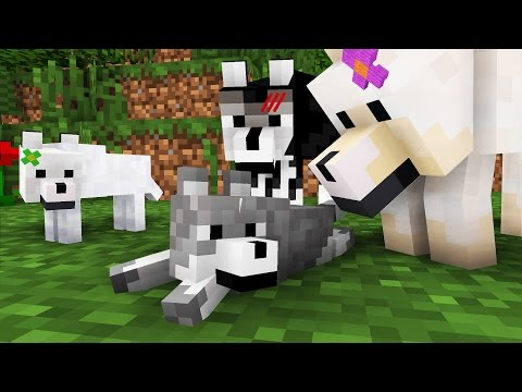 Wolf Life: The Family -- Cubic Minecraft Animation