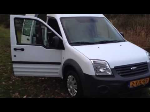 Ford Transit Connect Electric Volledig Elektrische Auto Youtube