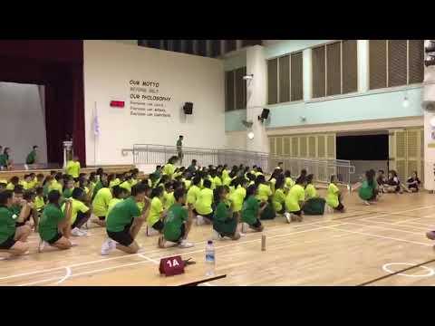 JVSS Sec One Orientation 2018 Mass Dance