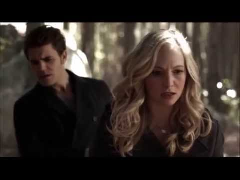 TVD: Stefan and Caroline looking for Miss Cuddles