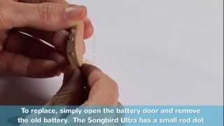 Changing the Batteries in Your Songbird Ultra 2.0 Digital Hearing Aids