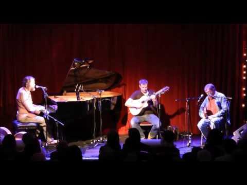 Liam Ó Maonlaí, Tim Edey and Kevin Burke at The Sugar Club, Dublin - 13th January 2016