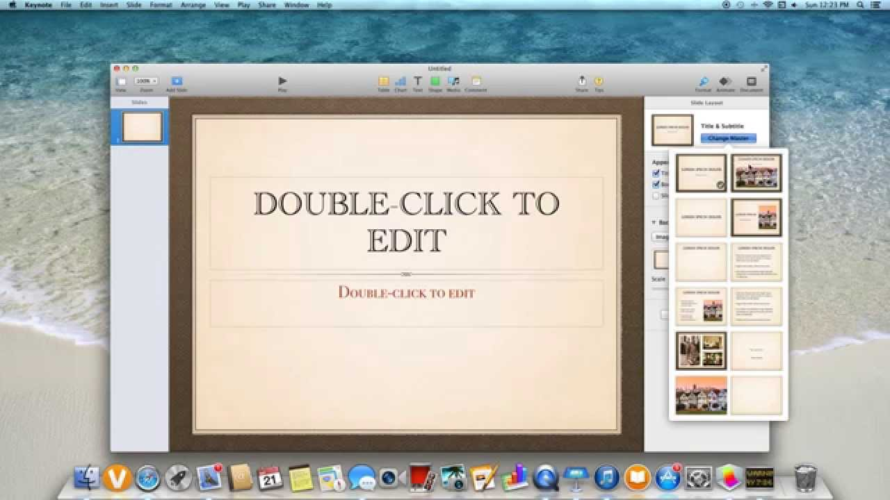 How do i create a powerpoint presentation on a mac