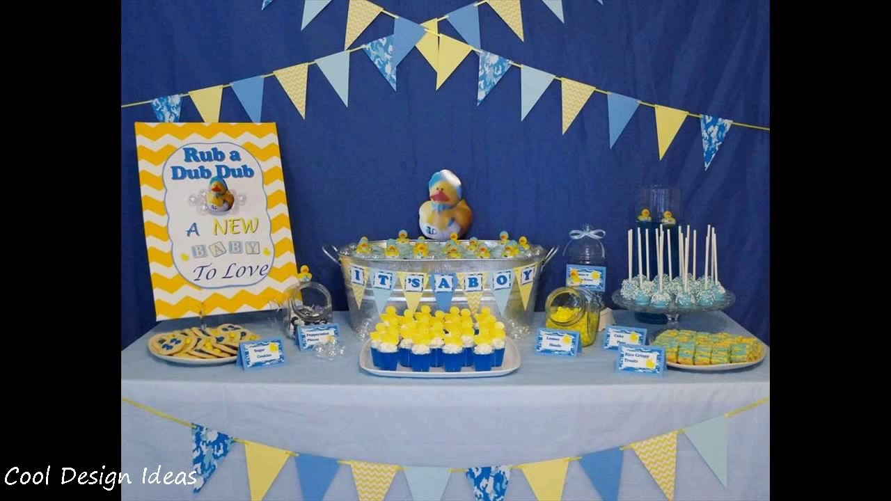 Creative Rubber Ducky Themed Baby Shower Ideas