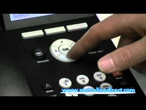 how to change ringtone on avaya phone