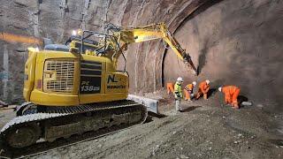 Sedici metri sotto terra: ecco il nuovo tunnel della metro di Torino