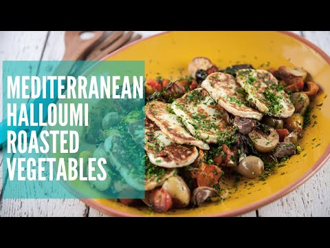 Mediterranean Halloumi Roasted Vegetables | GCBC12 Ep05