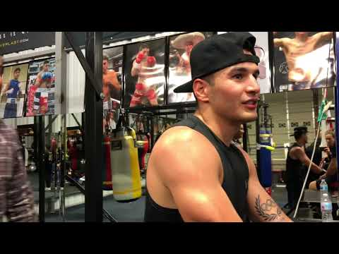 Mikey Garcia , Pita , Robert , Lindolfo , and Richard Schaefer ( behind the scenes)