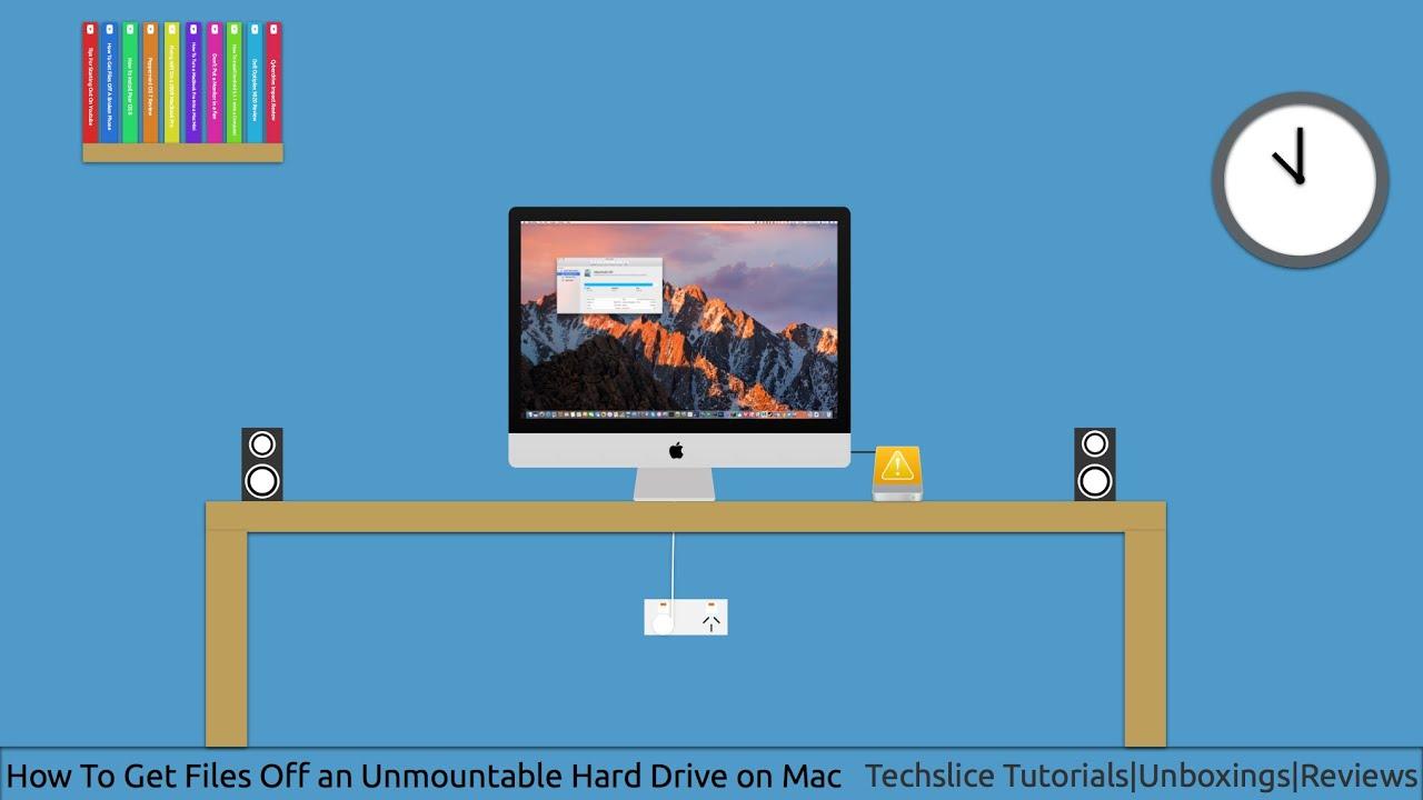 get files off mac hard drive