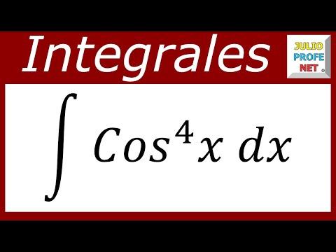 INTEGRALES TRIGONOMÉTRICAS - Ejercicio 3