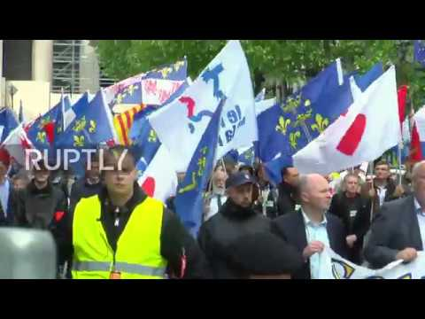 France: Paris nationalists honour French heroine Joan of Arc at rally