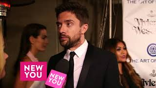 Topher Grace Tells Ashley Hume About His New Year's Resolution