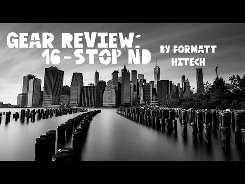 Testing the Formatt Hitech 16 stop ND Filter in NYC