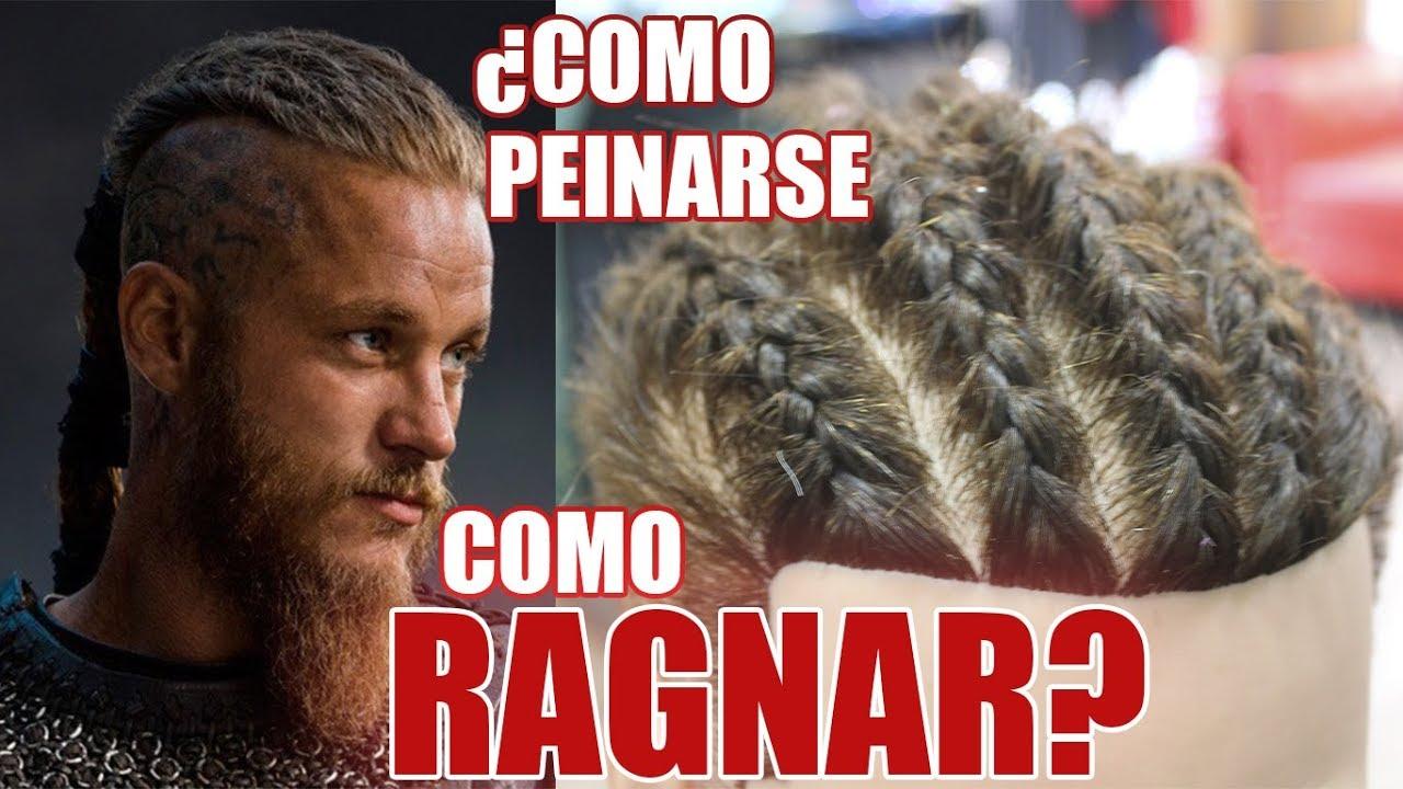 Como Hacer Trenzas Pegadas Vikingas Ragnar