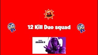 We're Back!!!!!| 12 kill duo squad win with GLC Crackshot| Fortnite season 9
