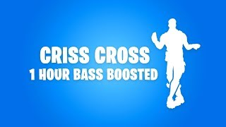 FORTNITE CRISS CROSS DANCE (1 HOUR BASS BOOSTED)