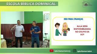 ESCOLA BÍBLICA DOMINICAL  1ª TIMÓTEO CAPÍTULOS 4-6