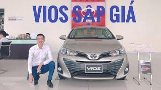 Toyota Vios 2019 lại sập giá. Giá từ 480 tr. Ông vua giảm giá mới của thị trường.LH: 0988.488.803