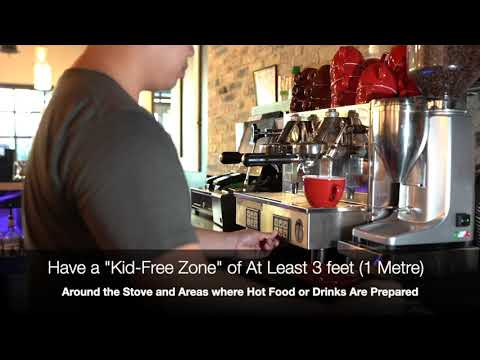Chef Johnny's Video Tips: Have a Kid-Free Zone by Your Cooking Area