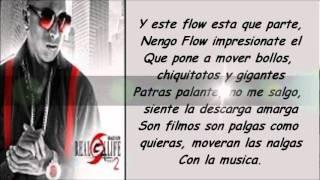 AMOR DE NOVELA CON LETRA - ÑENGO FLOW