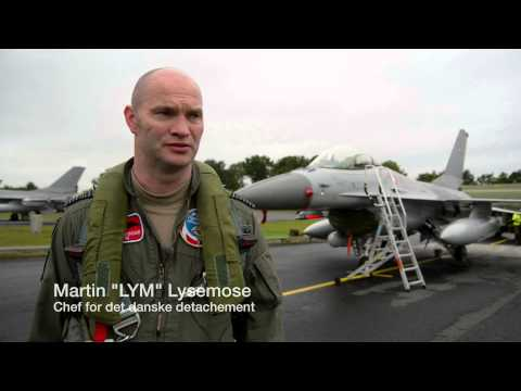 F 16 Vender Hjem Efter 4 Måneder I Baltikum