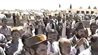 6th Year Anniversary of Prime Minister A.R. Ghafoorzai Balkh, Afghanistan 8/27/03 Part 2