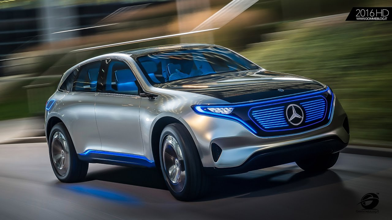 Mercedes Benz Concept Eq The Electric Suv Of Future