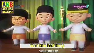 Lagu Upin Ipin Mengenal Angka Bahasa Arab, AKB - Ayo KIta Belajar