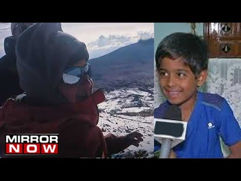 7 Year Old Samanyu Pothuraju, Scales Africa's Highest Peak, Mt Kilimanjaro