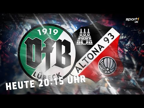 LIVE: VfB Lübeck - Altona 98 | Regionalliga | SPORT1