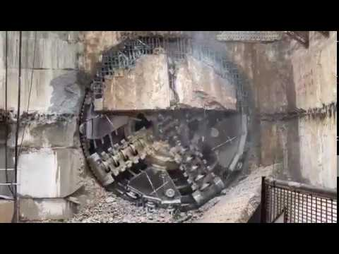 Ninth SSP Line TBM Breakthrough At Ampang Park MRT Station