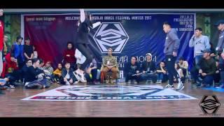 soda vs tuwshuu w2m dance festival 2017 winter electro top 16