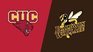 NCAA Regional Game 7: CUC vs. Baldwin Wallace